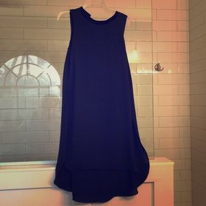 Navy and Black high low dress